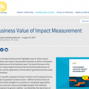 impact investing finanza responsabile